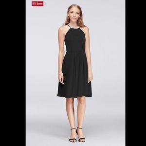 NWT DAVID'S BRIDAL illusion Neckline Dress. 12